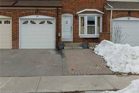Townhouse for sale at 93 Mossbrook Cres Toronto Ontario - MLS: E4698061