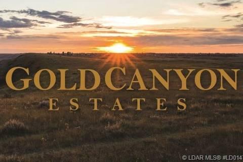 Residential property for sale at 93 Sandstone Rd S Lethbridge Alberta - MLS: LD0147515