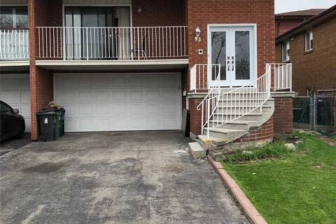 Townhouse for sale at 93 Sawmill Rd Toronto Ontario - MLS: W4454247