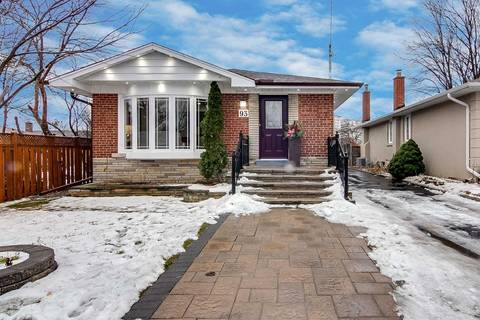 House for sale at 93 Seminole Ave Toronto Ontario - MLS: E4651659