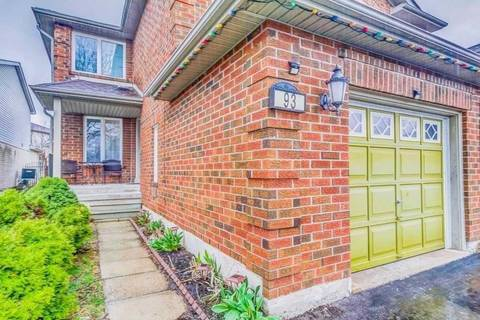 Townhouse for sale at 93 Townley Cres Brampton Ontario - MLS: W4518353