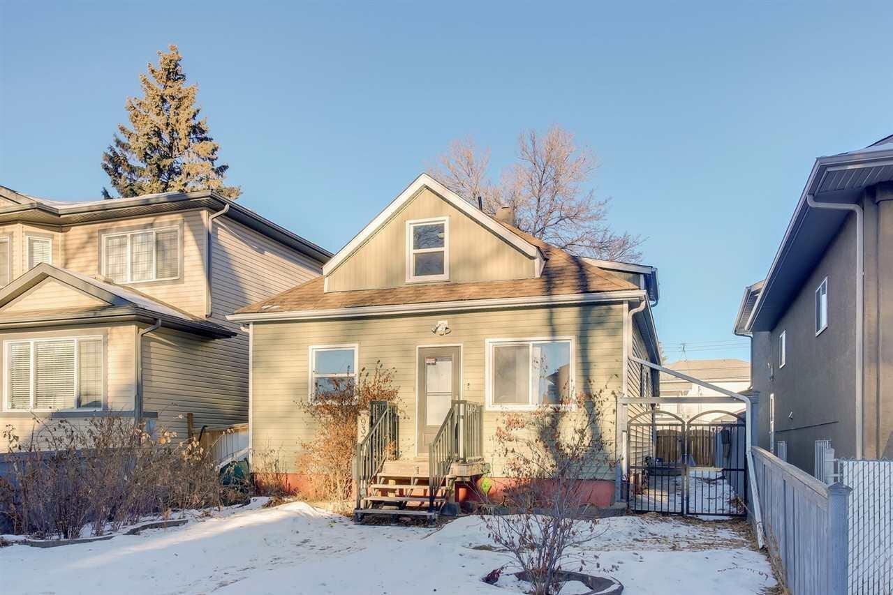 House for sale at 9324 107 Av NW Edmonton Alberta - MLS: E4225465