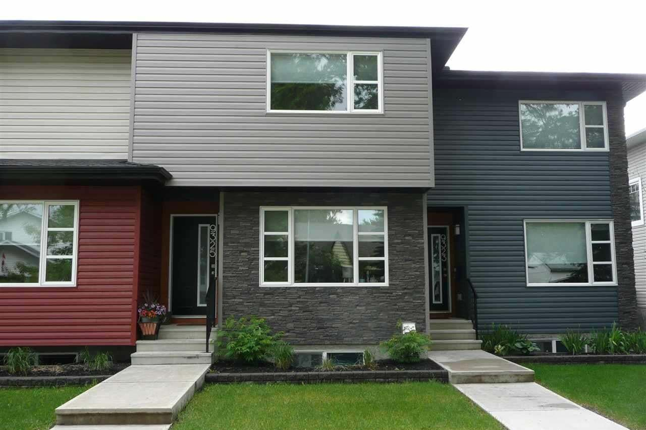 Townhouse for sale at 9325 93 St NW Edmonton Alberta - MLS: E4202549