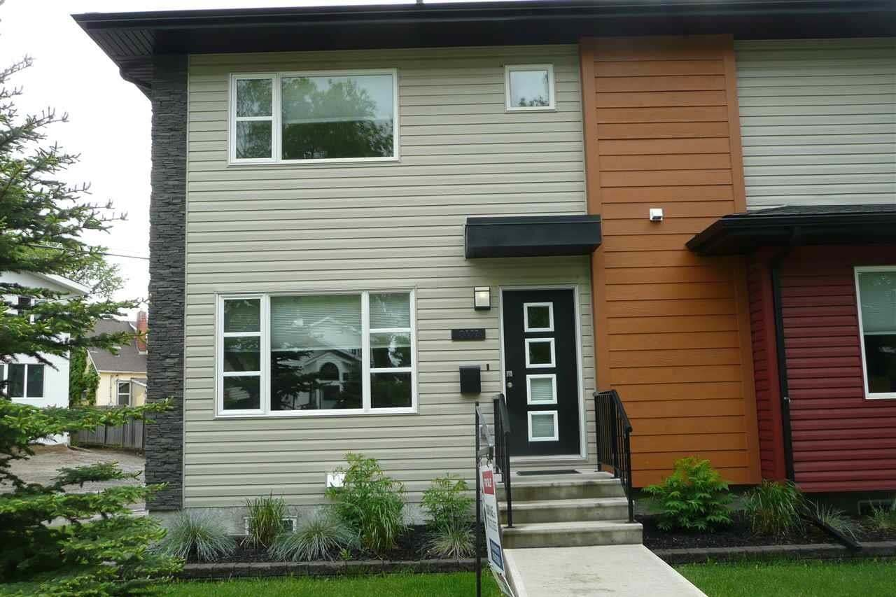 Townhouse for sale at 9327 93 St NW Edmonton Alberta - MLS: E4202555