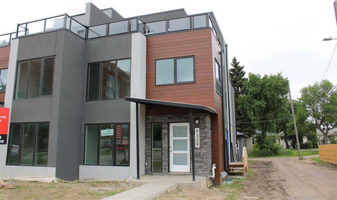 Townhouse for sale at 9329 Connors Rd Nw Edmonton Alberta - MLS: E4167923