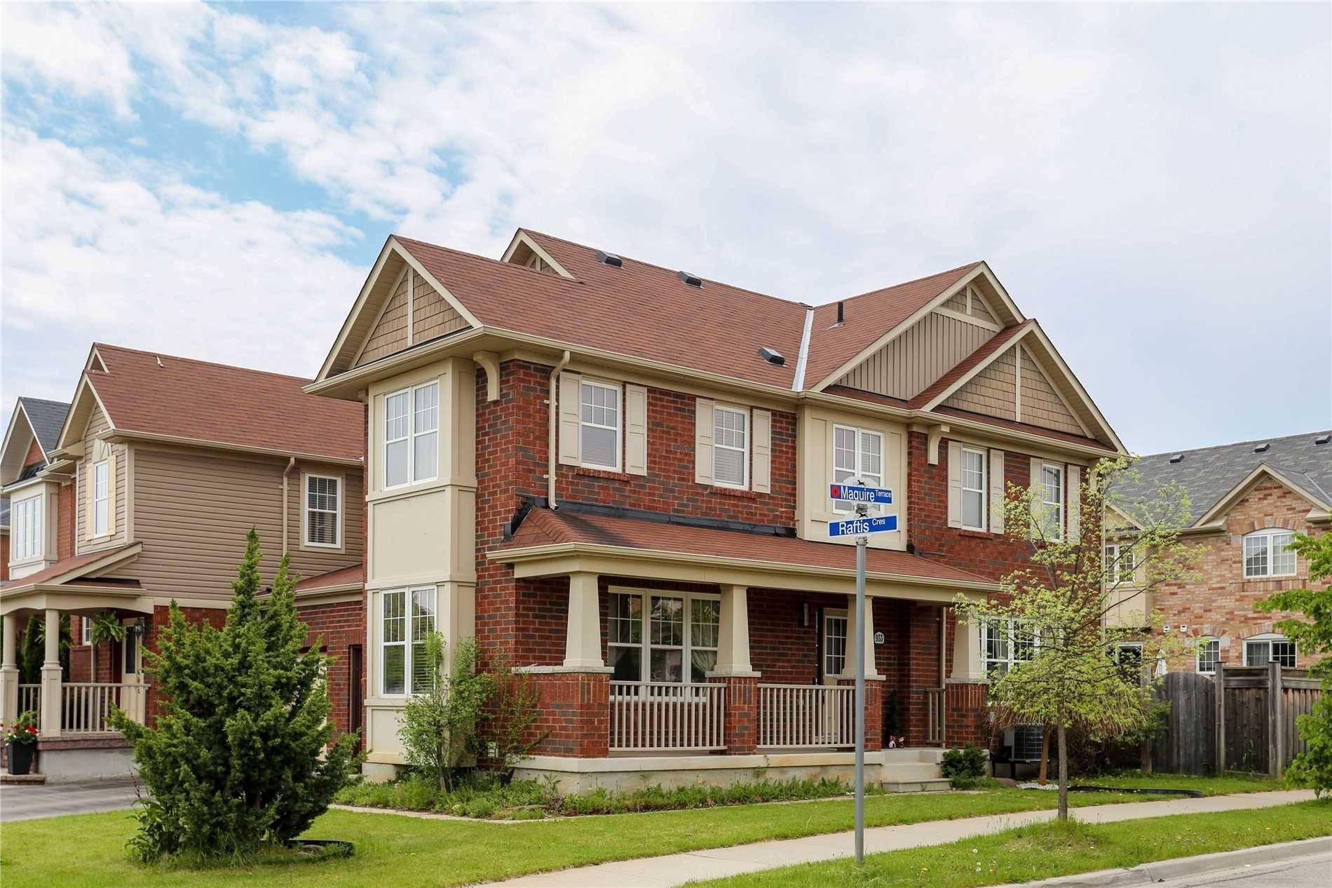 Townhouse for sale at 933 Raftis Cres Milton Ontario - MLS: W4452155