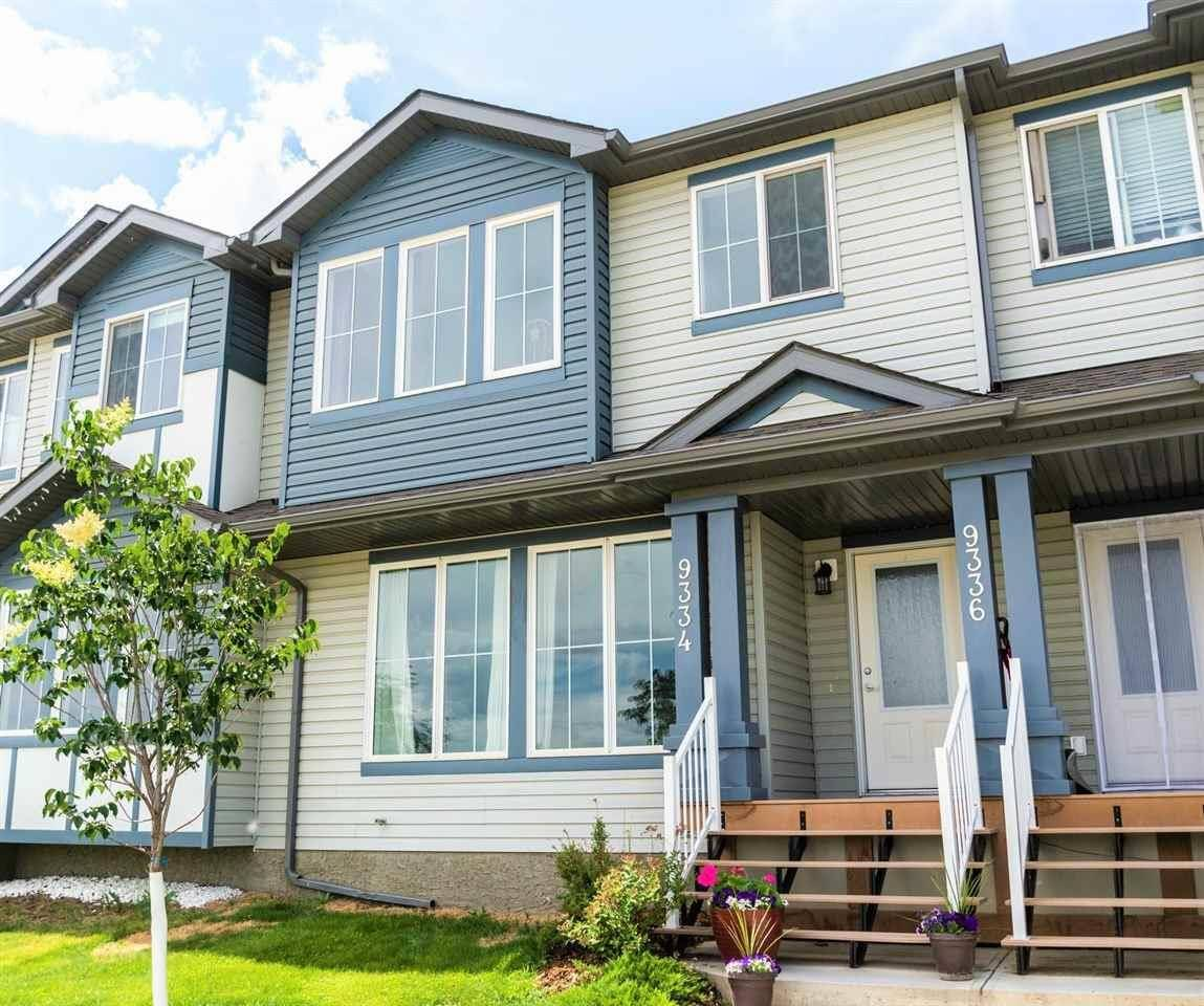 Townhouse for sale at 9334 211 St Nw Edmonton Alberta - MLS: E4168428