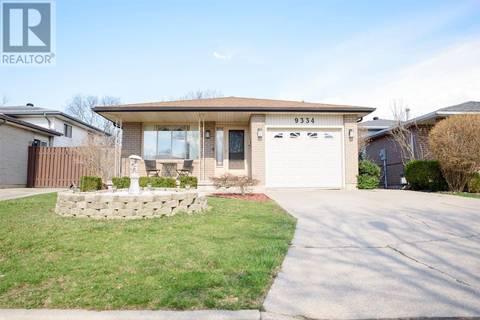 House for sale at 9334 Tamarack  Windsor Ontario - MLS: 19016054