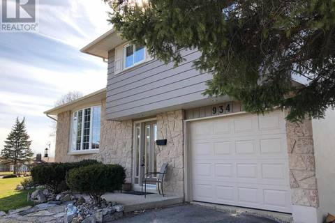 House for sale at 934 Lincoln Dr Kingston Ontario - MLS: K19002304
