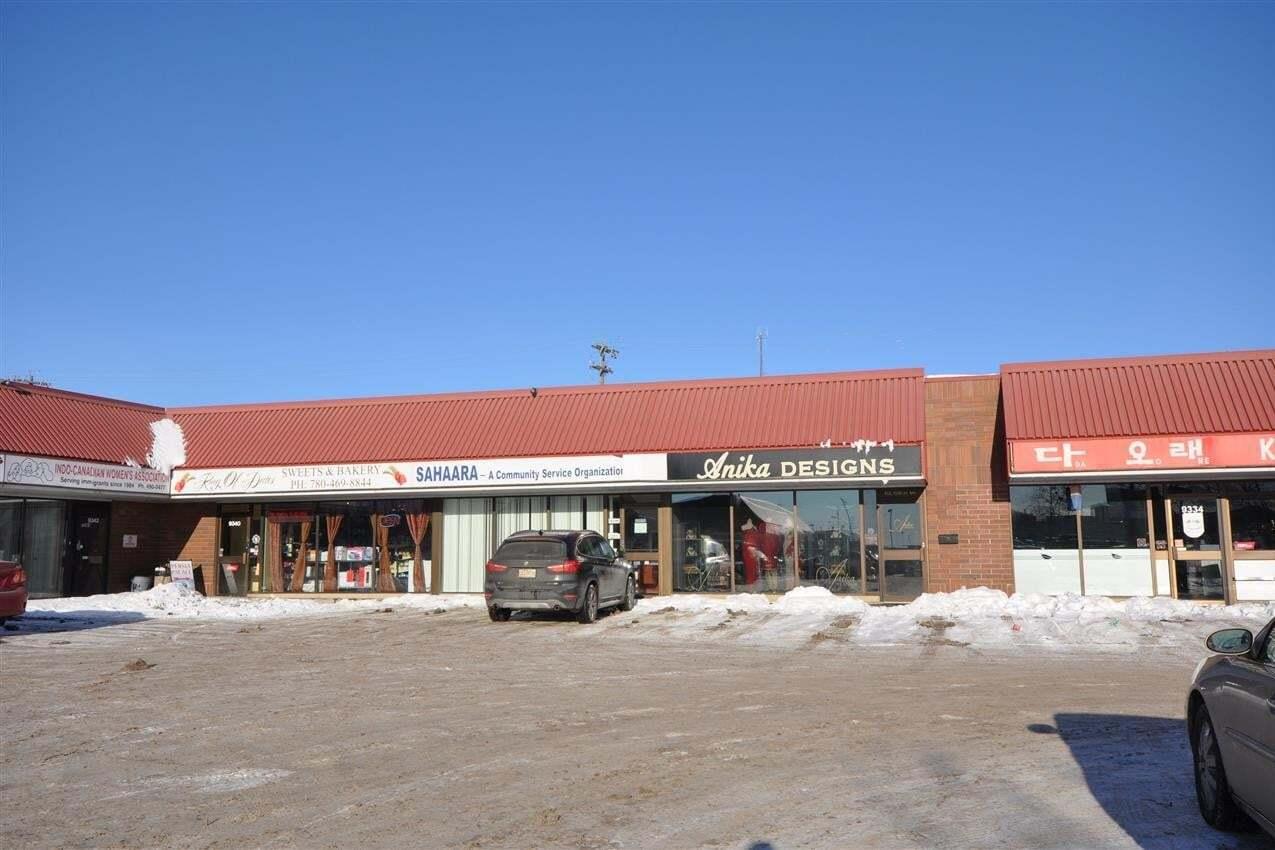 Commercial property for lease at 9340 & 9370 34 Av NW Edmonton Alberta - MLS: E4185357