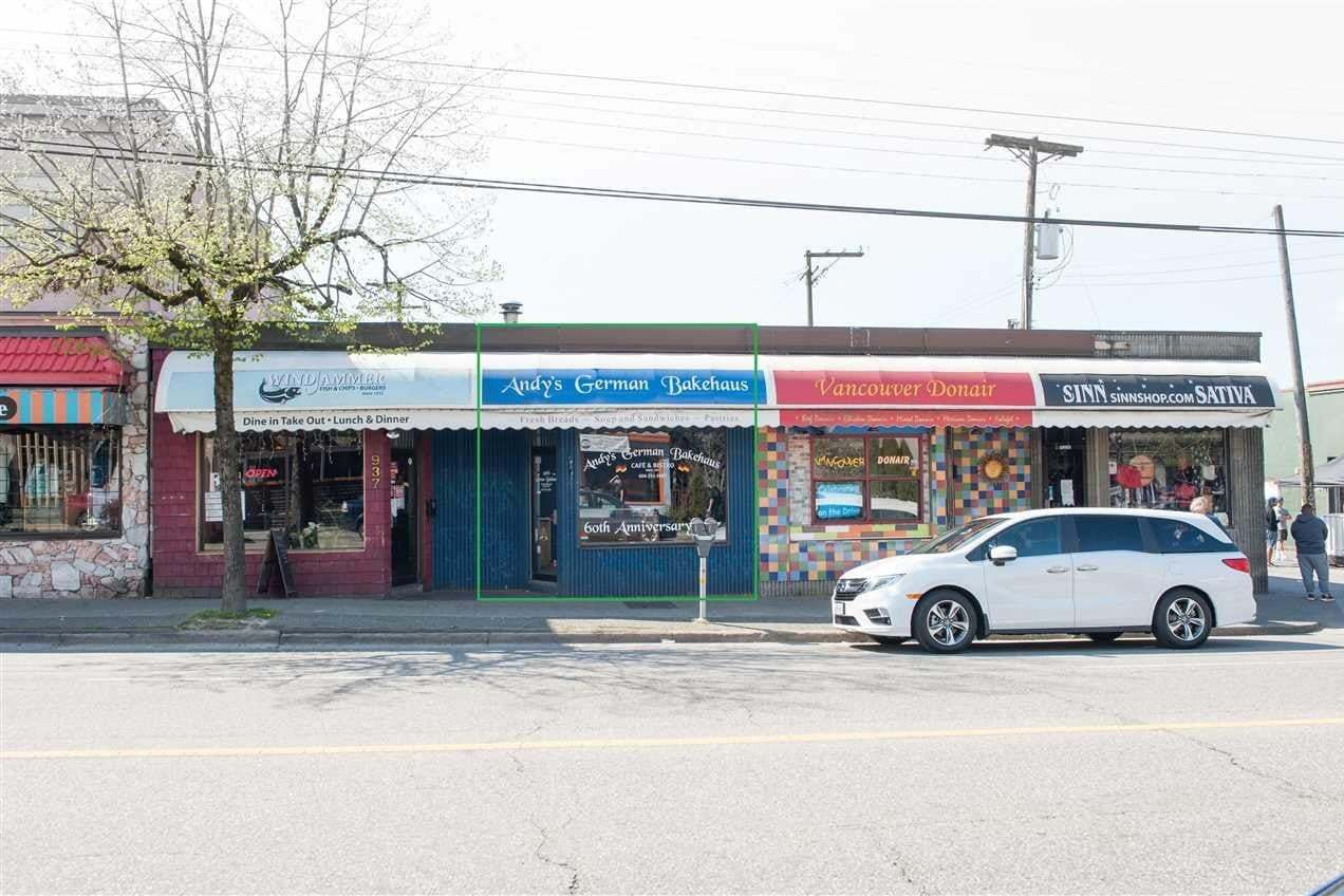 Commercial property for lease at 935 Commercial Dr Vancouver British Columbia - MLS: C8032249