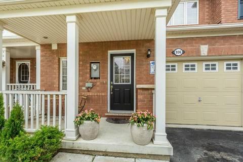 Townhouse for sale at 936 Hasselfeldt Hts Milton Ontario - MLS: W4543275