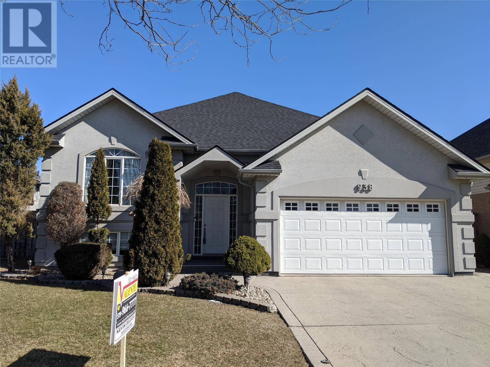 House for sale at 938 Bellagio  Windsor Ontario - MLS: 20002056