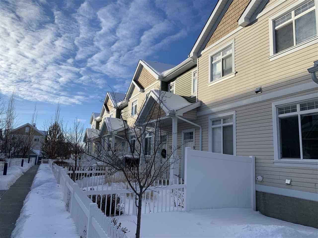 Townhouse for sale at 1804 70 St Sw Unit 94 Edmonton Alberta - MLS: E4186604