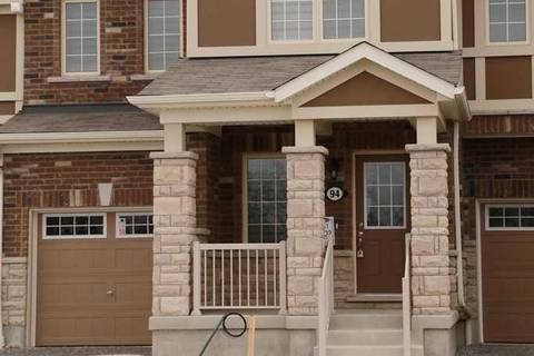 Townhouse for rent at 94 Coho Dr Whitby Ontario - MLS: E4680990