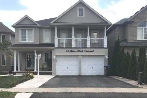 House for rent at 94 River Rock Cres Brampton Ontario - MLS: W4927597
