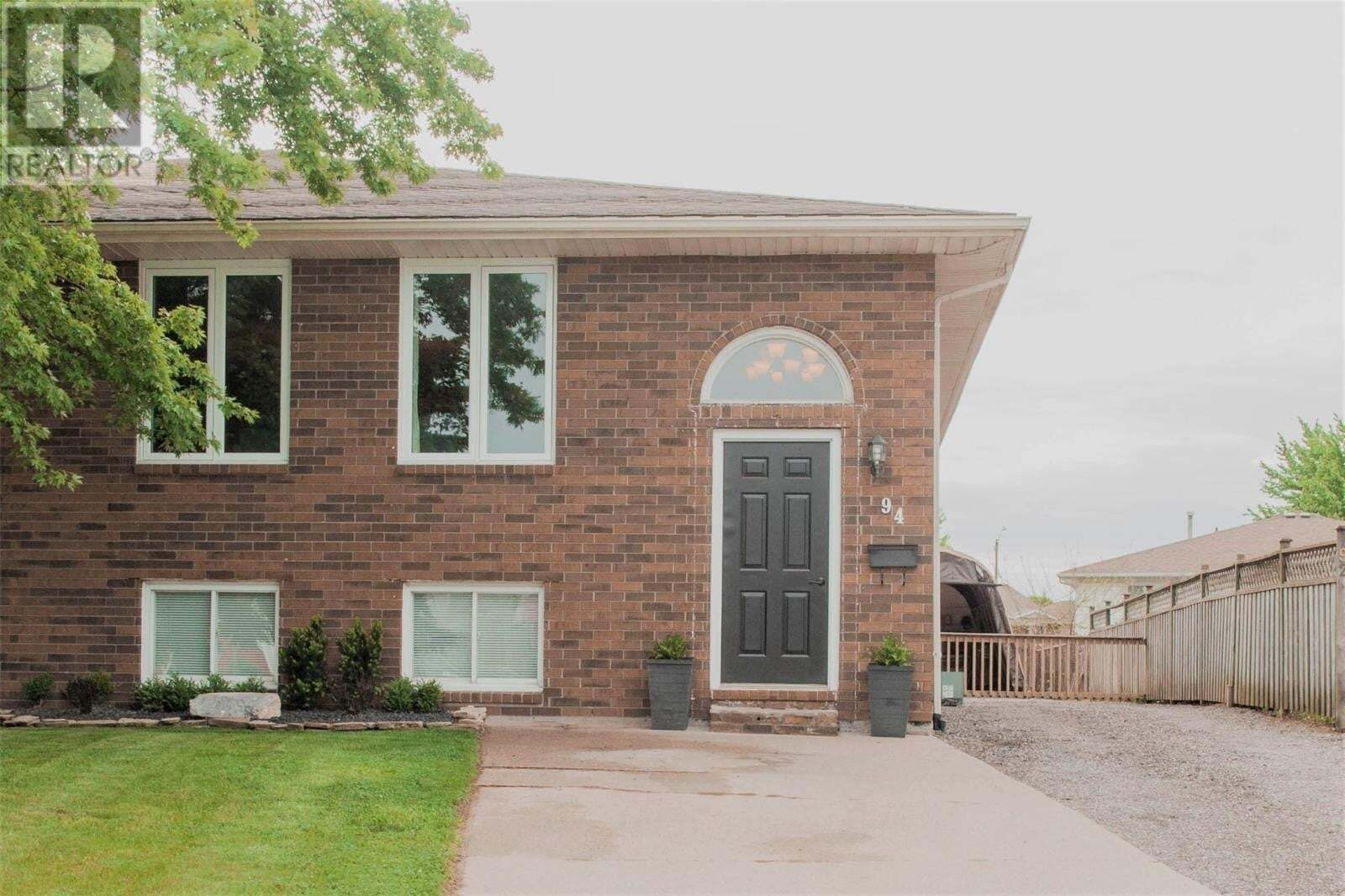 House for sale at 94 Satinwood Cres Leamington Ontario - MLS: 20005980