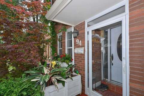 Townhouse for sale at 94 Wychcrest Ave Toronto Ontario - MLS: C4780582