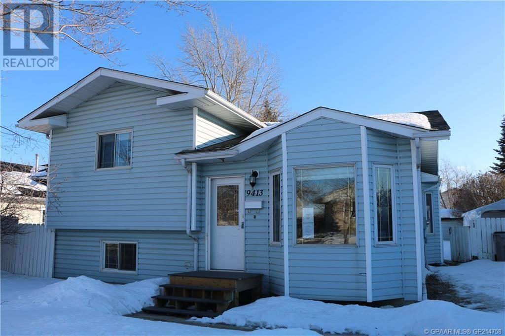 House for sale at 9413 83 Ave Grande Prairie Alberta - MLS: GP214758