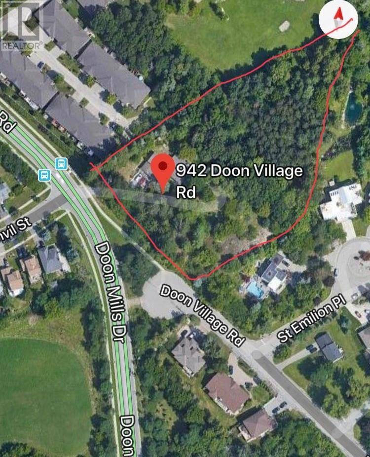 Residential property for sale at 942 Doon Village Rd Kitchener Ontario - MLS: 30753894
