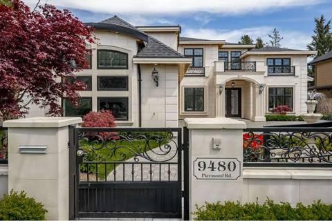House for sale at 9480 Piermond Rd Richmond British Columbia - MLS: R2427847