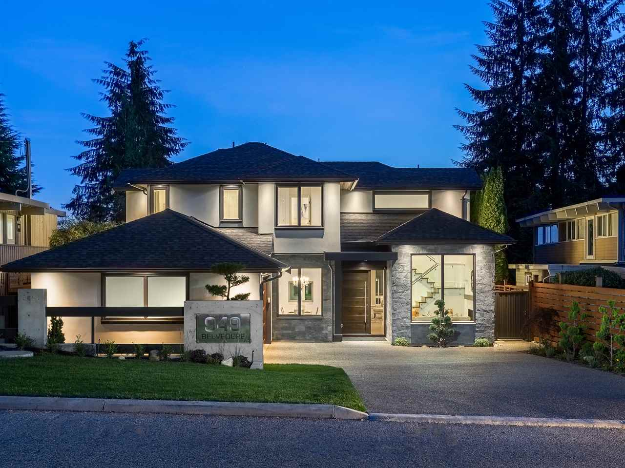 949 belvedere drive north vancouver sold on may 24 for Vancouver bc houses
