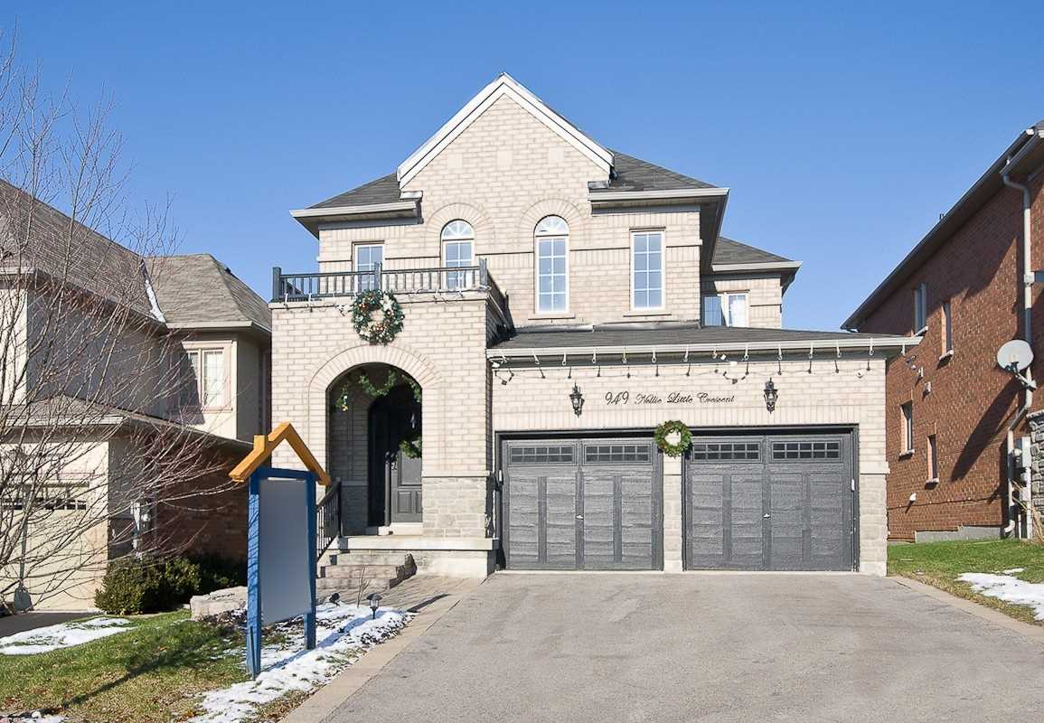 House for sale at 949 Nellie Little Crescent Newmarket Ontario - MLS: N4320664