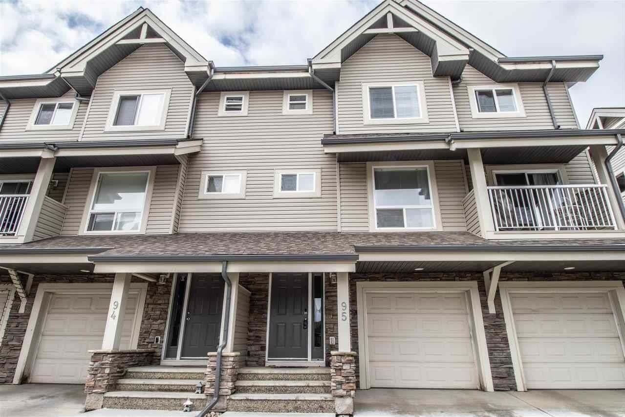 Townhouse for sale at 12050 17 Av SW Unit 95 Edmonton Alberta - MLS: E4204322