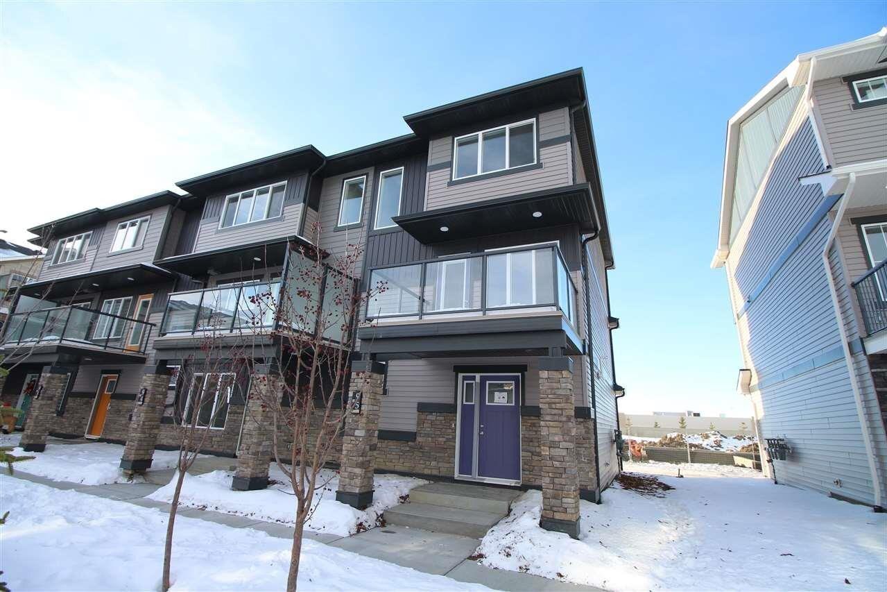 Townhouse for sale at 1530 Tamarack Bv NW Unit 95 Edmonton Alberta - MLS: E4222201