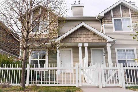 Townhouse for sale at 2051 Towne Centre Blvd Nw Unit 95 Edmonton Alberta - MLS: E4159797