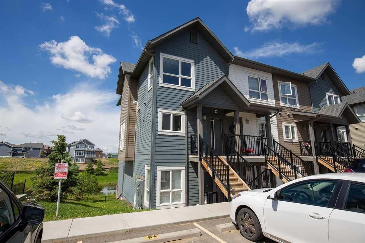 Townhouse for sale at 2560 Pegasus Bv NW Unit 95 Edmonton Alberta - MLS: E4190764