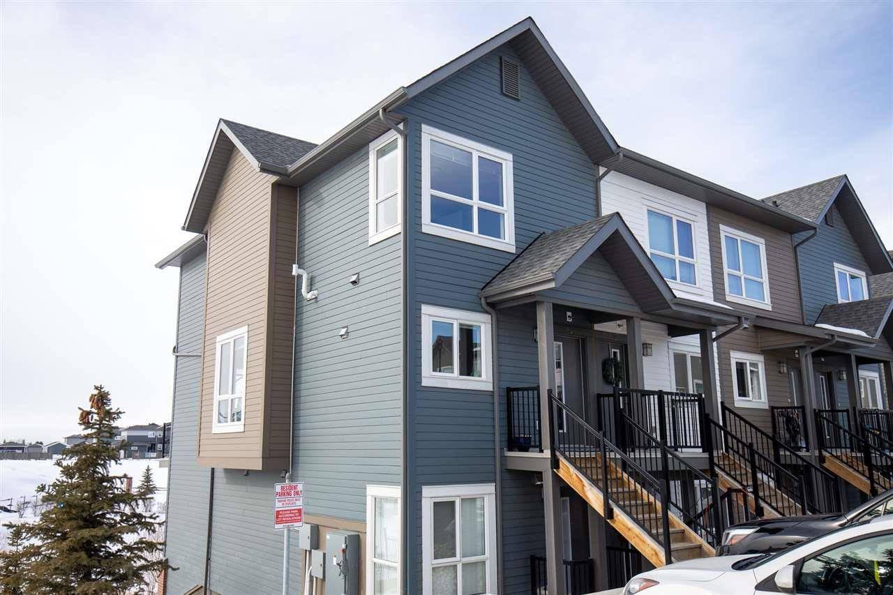 Townhouse for sale at 2560 Pegasus Blvd Nw Unit 95 Edmonton Alberta - MLS: E4190764