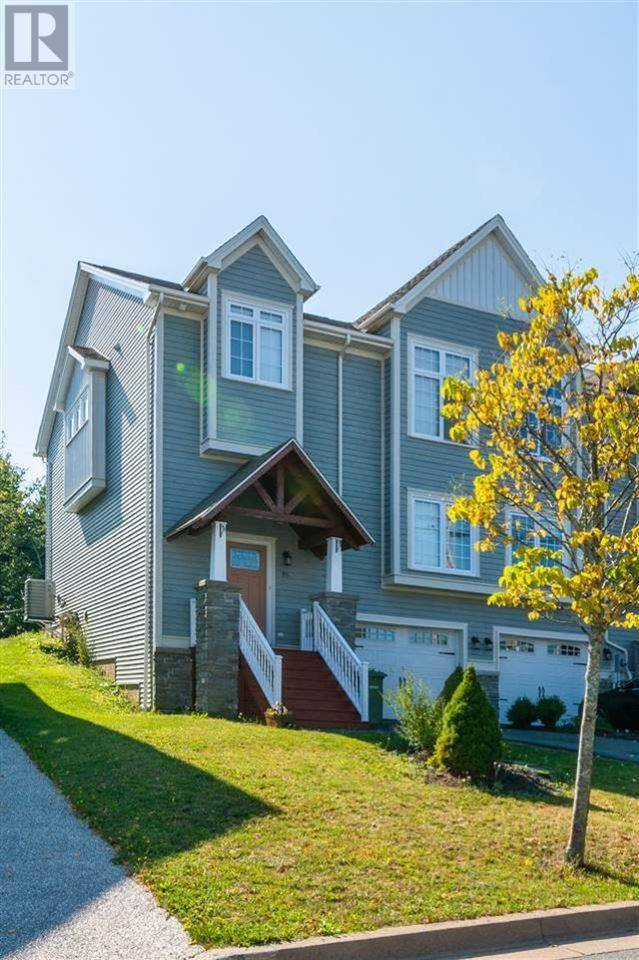 Townhouse for sale at 95 Bently Dr Halifax Nova Scotia - MLS: 202002932