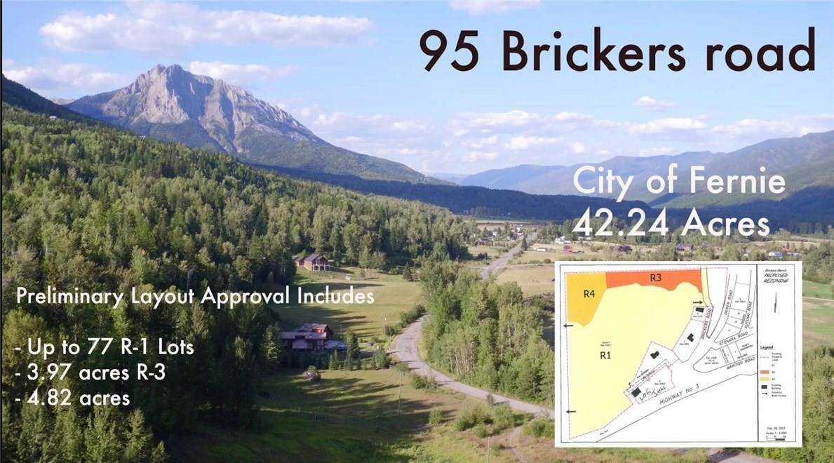 Residential property for sale at 95 Brickers Road  Fernie British Columbia - MLS: 2435278