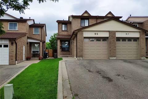Townhouse for sale at 95 Chalfield Ln Mississauga Ontario - MLS: W4547129
