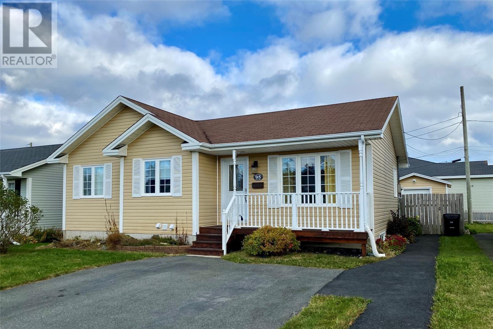 House for sale at 95 Eastbourne Cres St. John's Newfoundland - MLS: 1222618