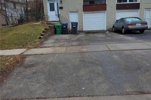 Townhouse for rent at 95 Greenbriar (lower) Rd Brampton Ontario - MLS: W4659029