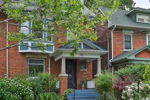 Townhouse for sale at 95 Hilton Ave Toronto Ontario - MLS: C4504749