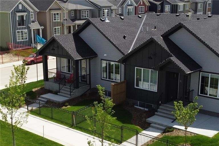 Townhouse for sale at 95 Walgrove Pa SE Walden, Calgary Alberta - MLS: C4305491