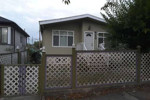 House for sale at 950 Nanaimo St Vancouver British Columbia - MLS: R2276014