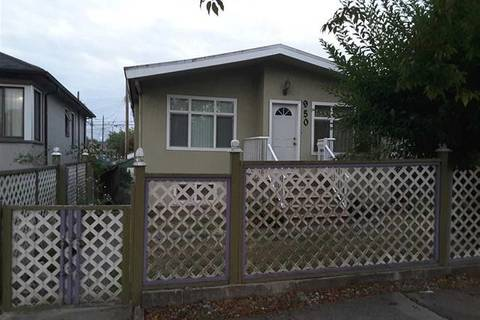 House for sale at 950 Nanaimo St Vancouver British Columbia - MLS: R2412861
