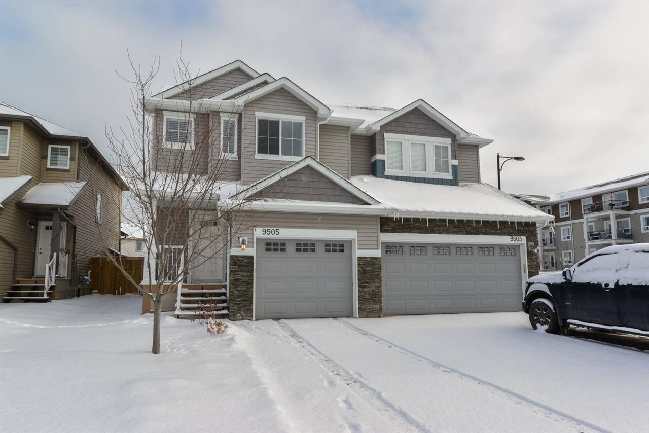 Townhouse for sale at 9505 Simpson Ct Nw Edmonton Alberta - MLS: E4187450