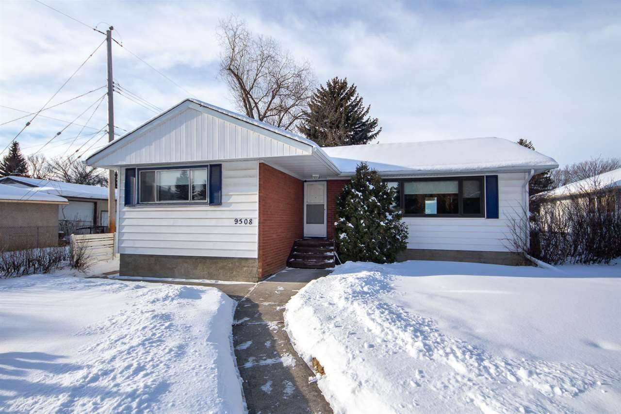 House for sale at 9508 76 St Nw Edmonton Alberta - MLS: E4185743