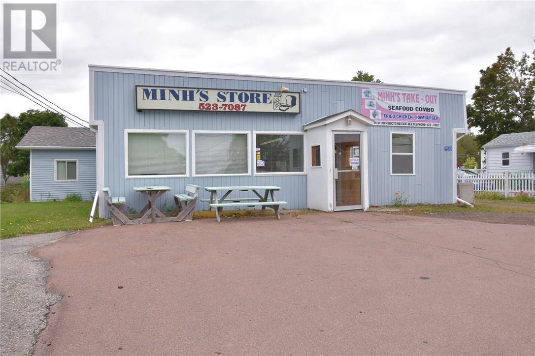 Commercial property for sale at 9510 Main St Richibucto New Brunswick - MLS: M125462