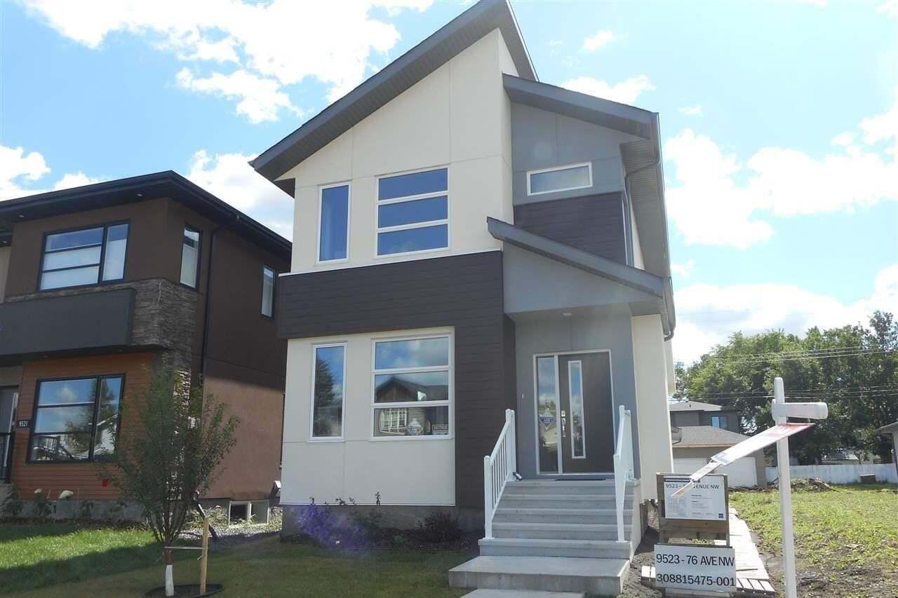House for sale at 9523 76 Av NW Edmonton Alberta - MLS: E4200222