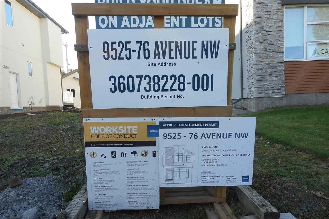 Home for sale at 9525 76 Av NW Edmonton Alberta - MLS: E4215742