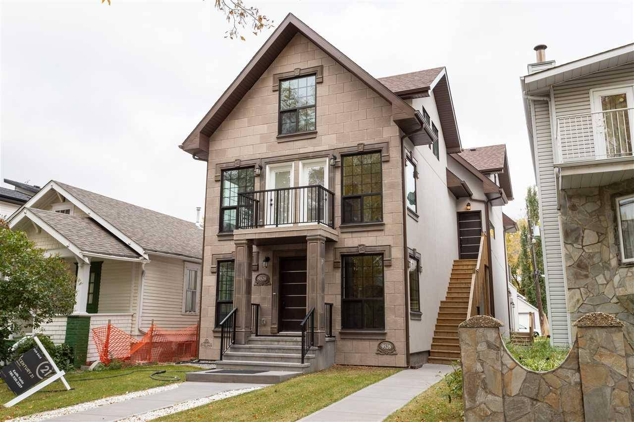 Townhouse for sale at 9526 109a Ave Nw Edmonton Alberta - MLS: E4176391