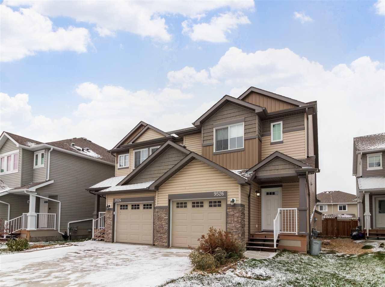 Townhouse for sale at 9526 Simpson Ct Nw Edmonton Alberta - MLS: E4177996