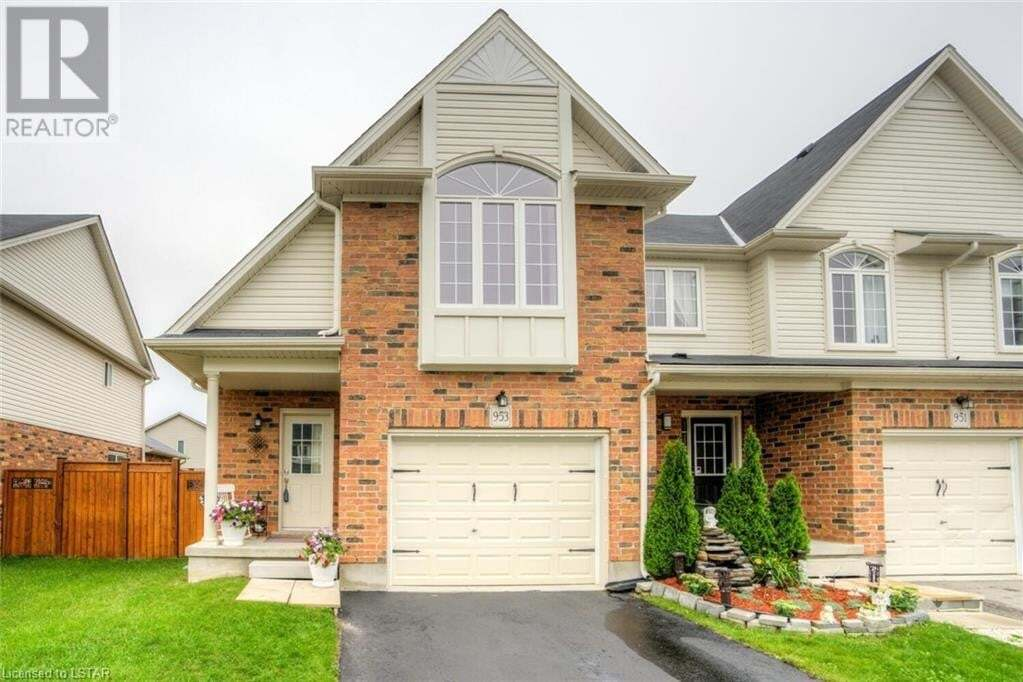 Townhouse for sale at 953 Silverfox Cres London Ontario - MLS: 40019617