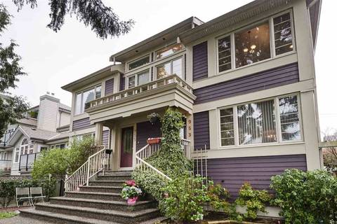 Townhouse for sale at 953 15th Ave W Vancouver British Columbia - MLS: R2410098